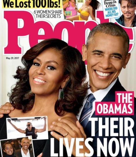 Американский таблоид рассказал, как живет Обама после президентства - Фото