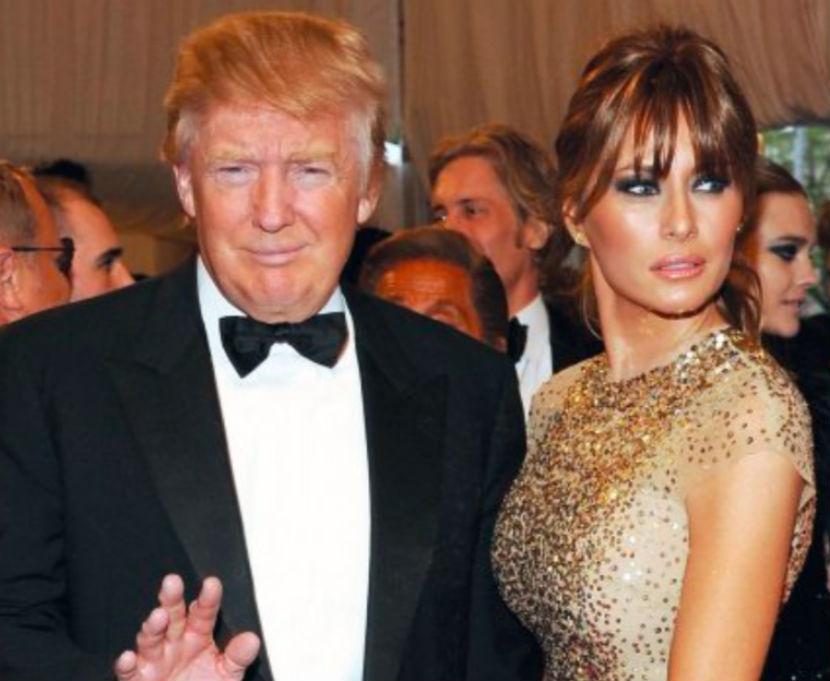 Голая Меланья Трамп первая леди Америки видно её сиськи