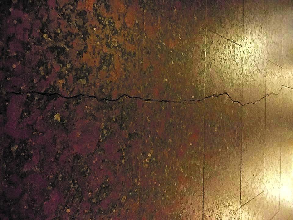 """На станции метро """"Героев Днепра"""" в Киеве образовалась огромная трещина - Цензор.НЕТ 5841"""