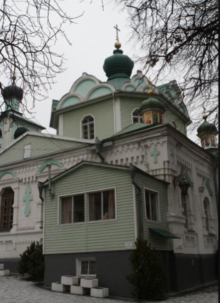 Прогулка по Демеевке в Киеве: на Голосеевском проспекте любуемся старинной синагогой и находим самую большую библиотеку в Украине, фото-5