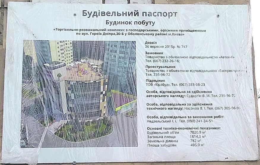 9a305faedfe3 На Героев Днепра в Киеве начали строить очередной ТРЦ   СЕГОДНЯ