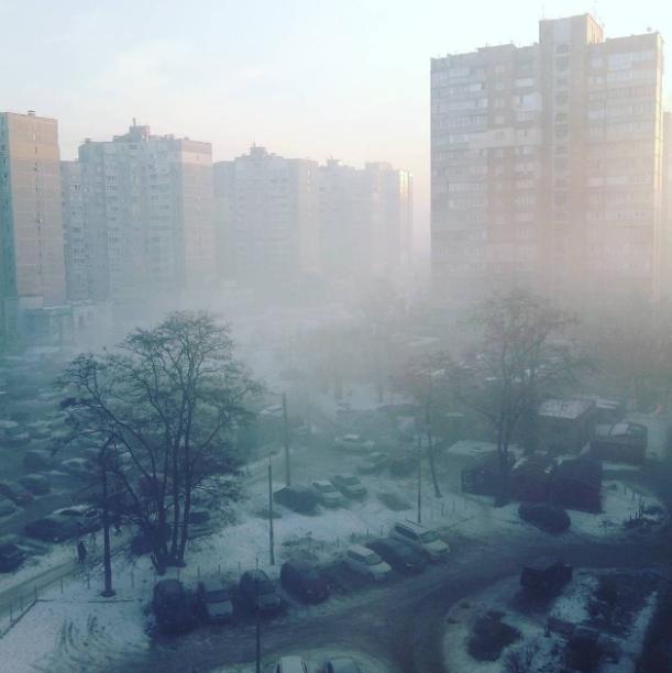 ВГСЧС назвали киевский дым ивонь «природным явлением»
