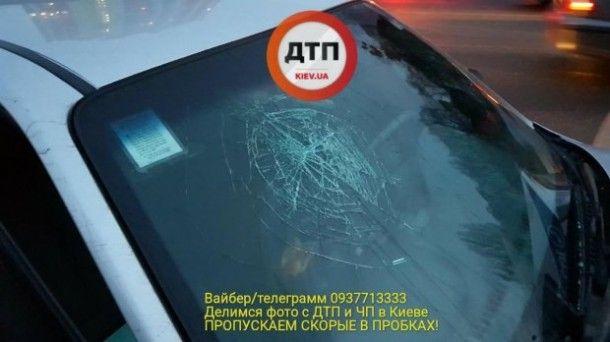ВКиеве таксист на«бляхах» протаранил полицейских, есть погибшие