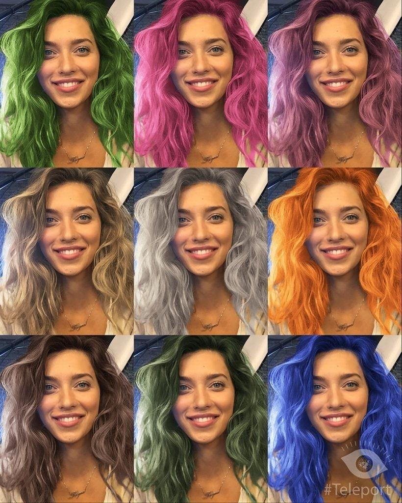 Приложение для перекраски волос вошло впятерку лидеров поскачиванию вAppStore