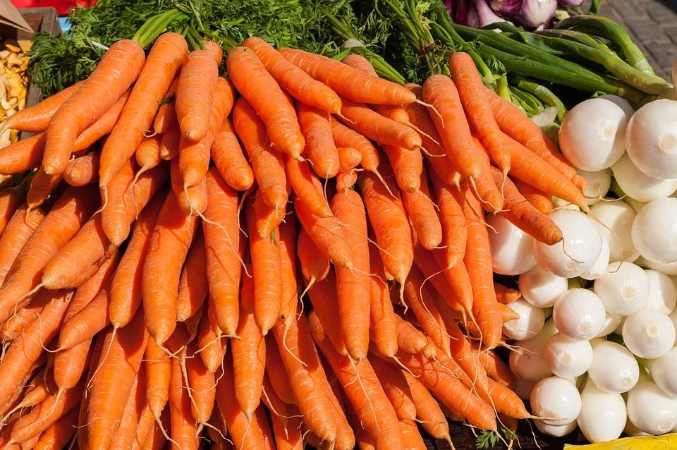 морковь лук pixabay.com