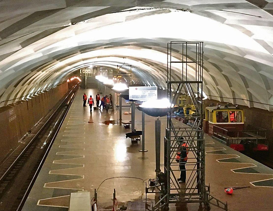 отделе фото станций харьковского метрополитена она для манжет