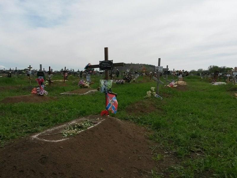 За месяц на кладбище в Донецке значительно возросло количество новых захоронений, - ИС - Цензор.НЕТ 8087