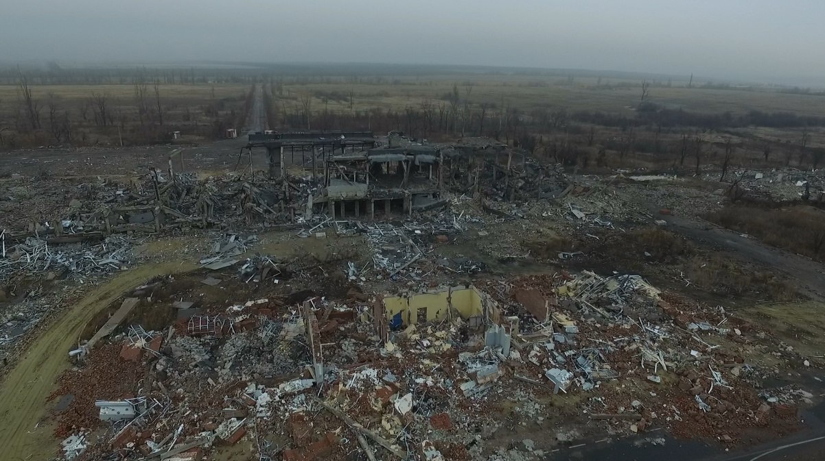 Бои за луганский аэропорт. 4 года спустя