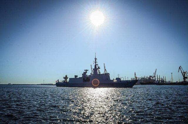 ВОдессу прибыл ракетный фрегат «Лафайет» изФранции