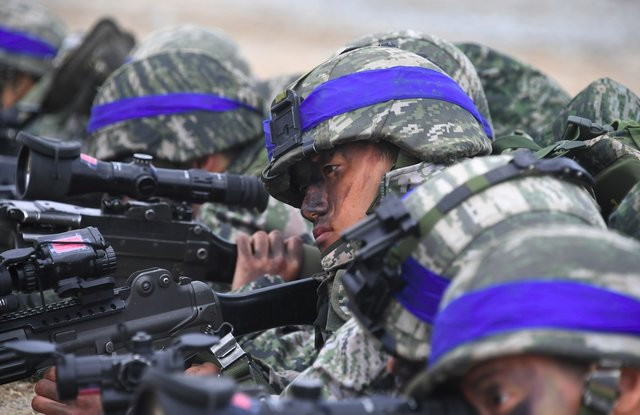 Южная Корея провела испытание баллистической ракеты
