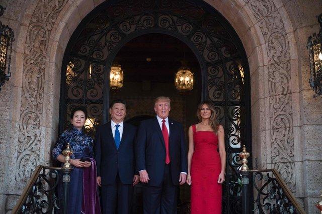 Мелания Трамп потрясла стройной фигурой в одеяние Valentino 18