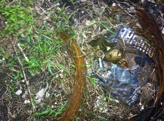 ВКраматорске ребенок нашел водворе школы 14 гранат