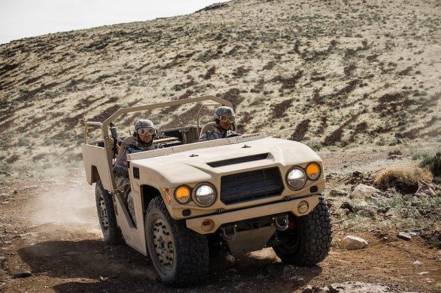 Boeing выпустила улучшенный военный вседорожный автомобиль Phantom Badger