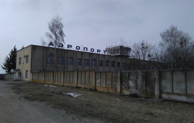 Аэропорт в Суммах построили в 1937 году. Он без ремонта уже 30 лет. Фото: tv.sumy.ua