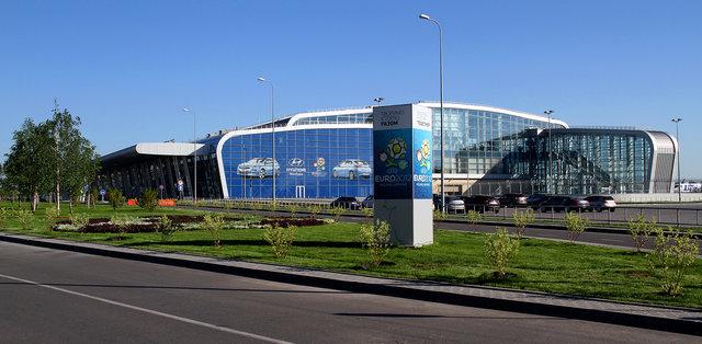 Львовский аэропорт отстроили к Евро-2012. Фото: lwo.aero