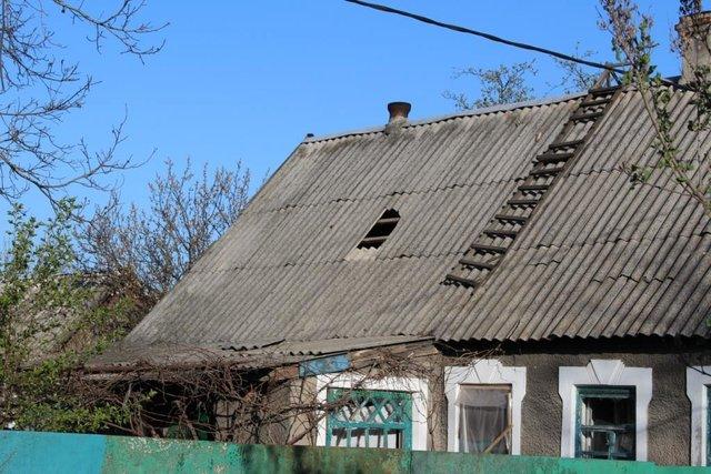 Боевики обстреляли личный сектор Авдеевки, повреждены 3 дома