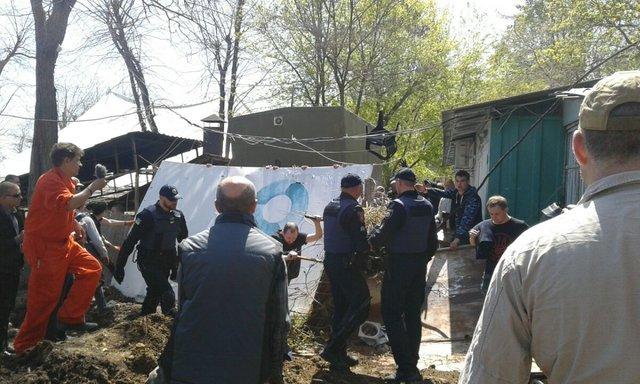 Милиция задержала десятерых активистов-сторонников стройки наберегу — Конфликт вОтраде