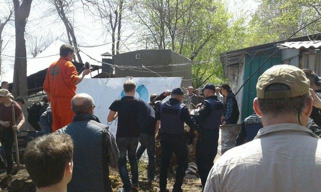 Настройплощадке вОтраде подрались активисты: есть схваченные