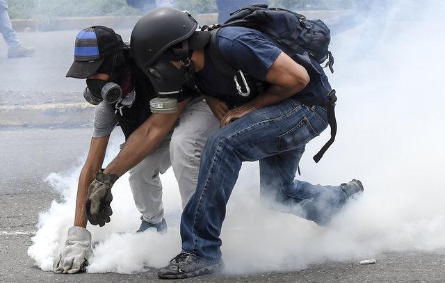 Наакциях протеста вВенесуэле погибли 35 человек, 717 ранены