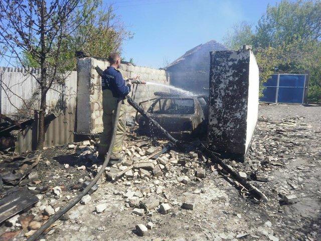 Катастрофа наЛуганщине: Мужчина сжег дома соседей изастрелился изружья