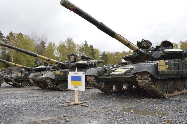 Украинские танкисты участвуют всоревнованиях вГермании