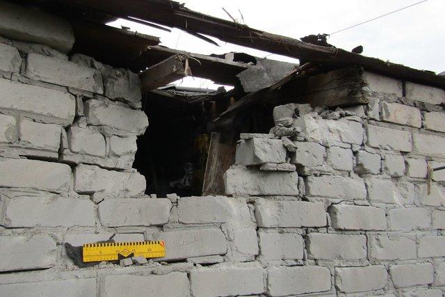 Боевики обстреляли дома мирных граждан