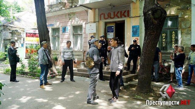 ВНиколаеве свободовцы, «Нацкорпус» иучастники АТО блокируют кабинет «афганцев»