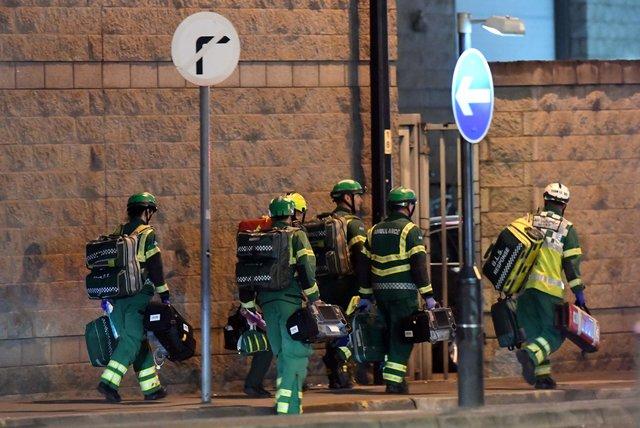 Взрыв настадионе вМанчестере вовремя концерта, около 20 погибших