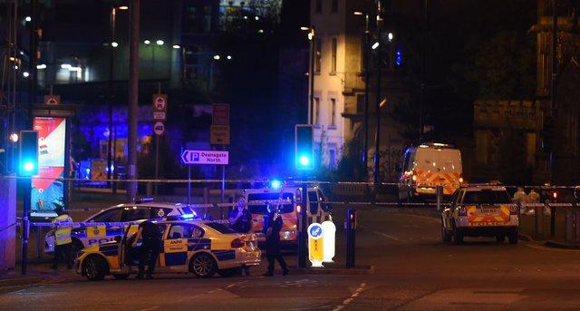 Взрыв вМанчестере. Погибли 20 человек