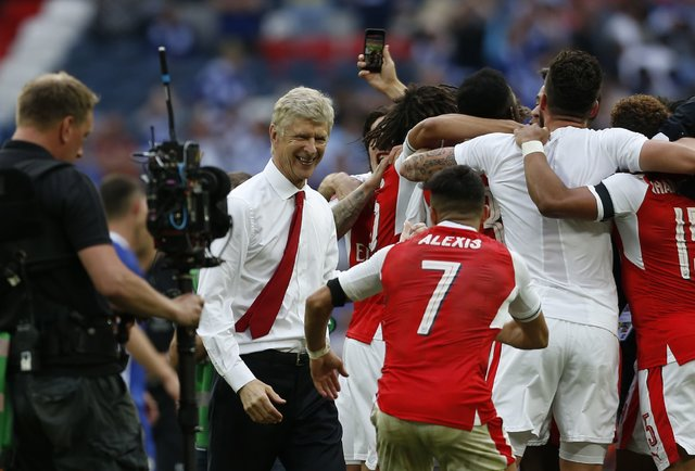 «Арсенал» врекордный тринадцатый раз одержал победу Кубок Британии