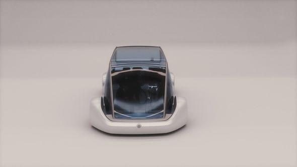 Компания Илона Маска показала прототип подземного микроавтобуса