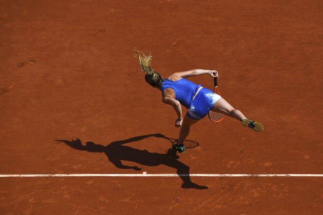 Свитолина вдраматичном матче уступила вчетвертьфинале «Ролан Гаррос»