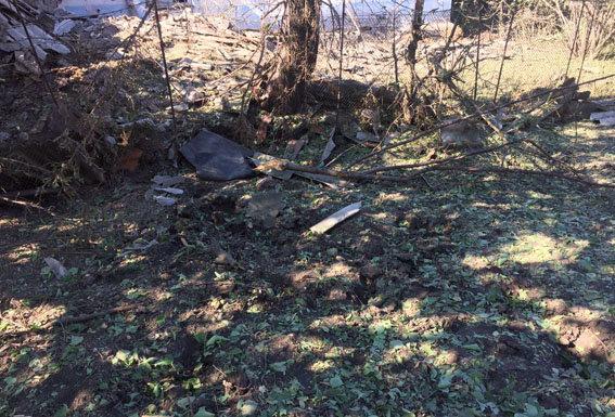 Боевики обстреляли поселки Ольгинка иГрафское Донецкой области