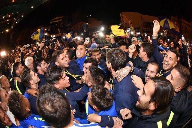 «Бока Хуниорс» в32-й раз стал чемпионом Аргентины пофутболу