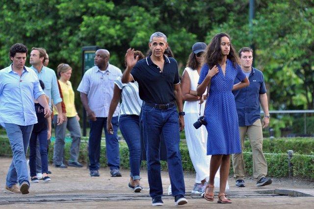 Отдых Обамы показали всети интернет — Назависть Трампу