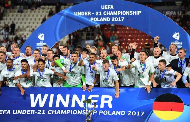 Германия выиграла молодёжный чемпионат Европы, победив вфинале Испанию