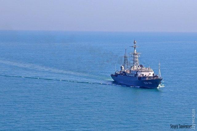 Замена утонувшему «Лиману»: Россия отправила следить заучениями «СиБриз» новый разведчик