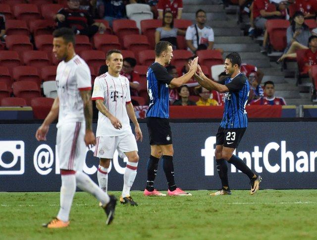 Кадры ошеломляющего гола футболиста «Интера» всвои ворота вматче с«Челси»