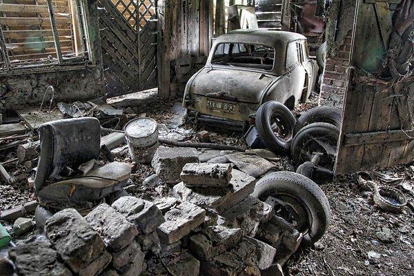ВБерлине найдена заброшенная мастерская с«Москвичами»