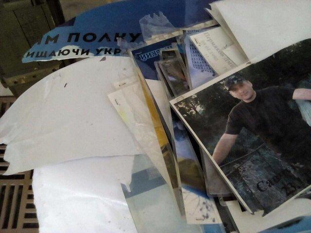 Вандалы сорвали фото погибших бойцов наАллее Героев