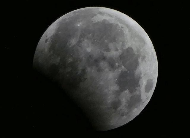 Жители Земли наблюдали за лунным затмением , фото-1