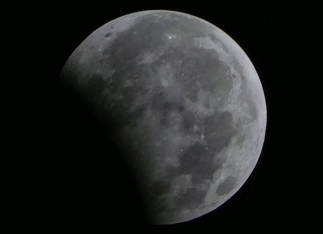 Жители Земли наблюдали за лунным затмением , фото-5