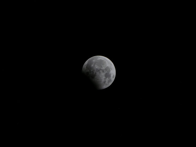 Жители Земли наблюдали за лунным затмением , фото-6