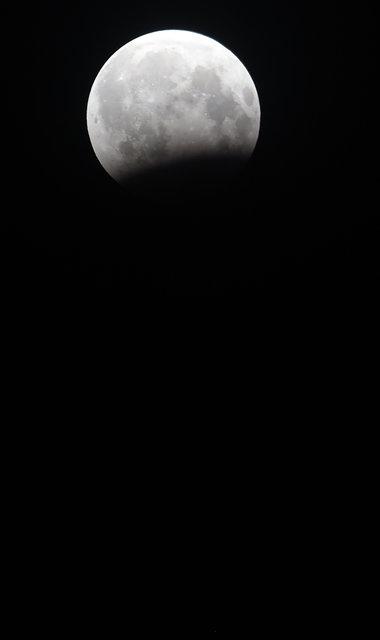 Жители Земли наблюдали за лунным затмением , фото-13