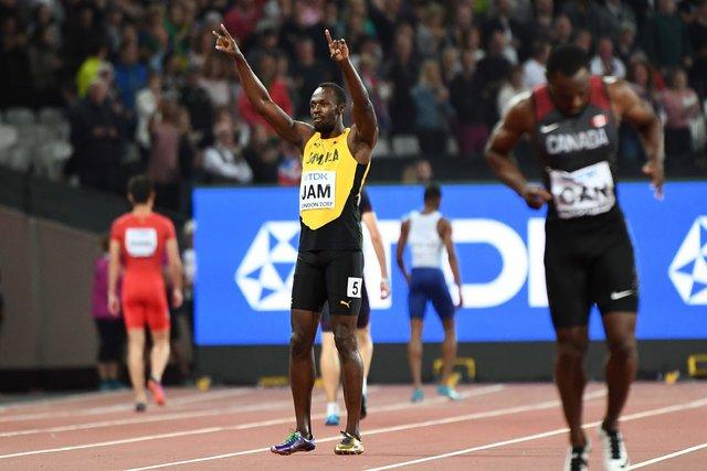 Англия  сенсационно выиграла мужскую эстафету 4X100 метров начемпионате мира