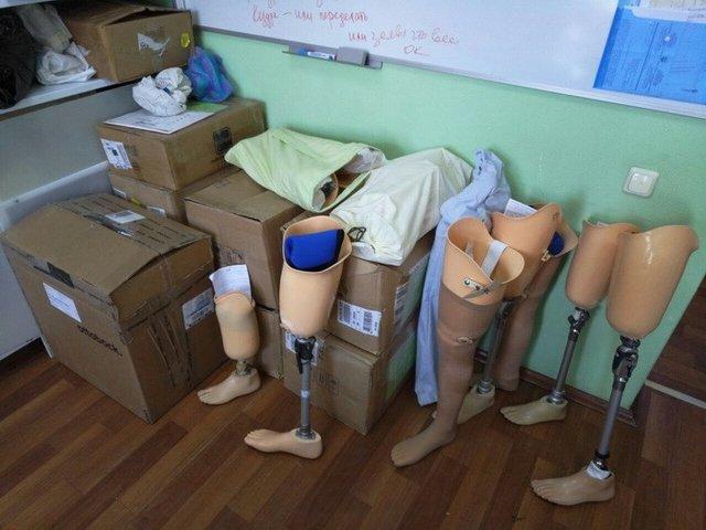 СБУ перекрыла канал поставок протезных комплектующих из Российской Федерации