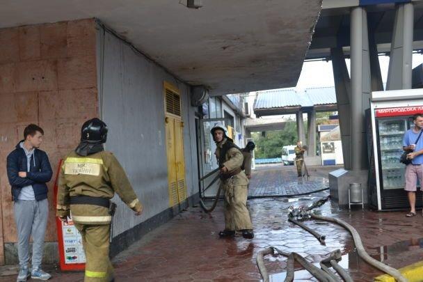 Пожар вОдессе: изЦентрального автовокзала эвакуировали практически сотню человек