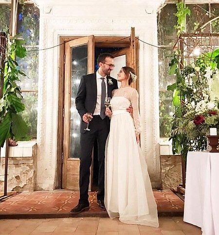 Свадьба воранжерее: Лещенко женился надиджейке Топольской