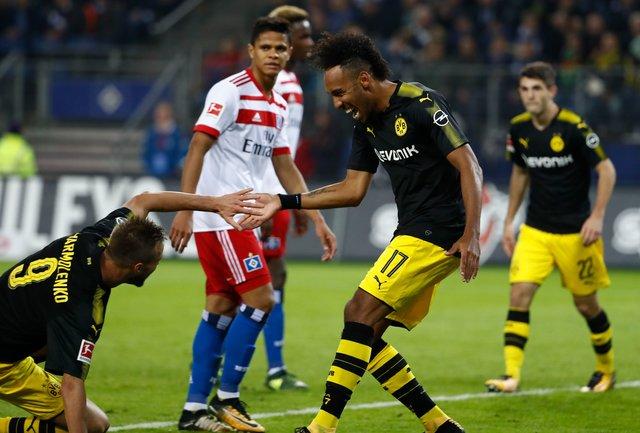 Дортмундская «Боруссия» разгромила вгостях «Гамбург» вматче чемпионата Германии
