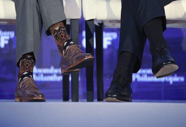 Премьер Канады появился набизнес-форуме вносках сЧубаккой